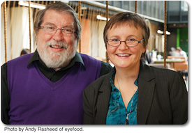 Allan Carrington and Linda Westphalen